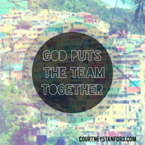 God Puts the Team Together