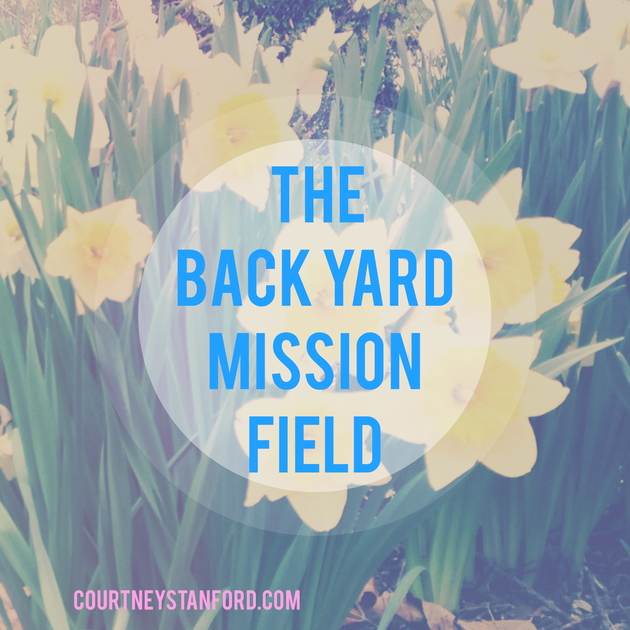 the back yard mission field let every heart