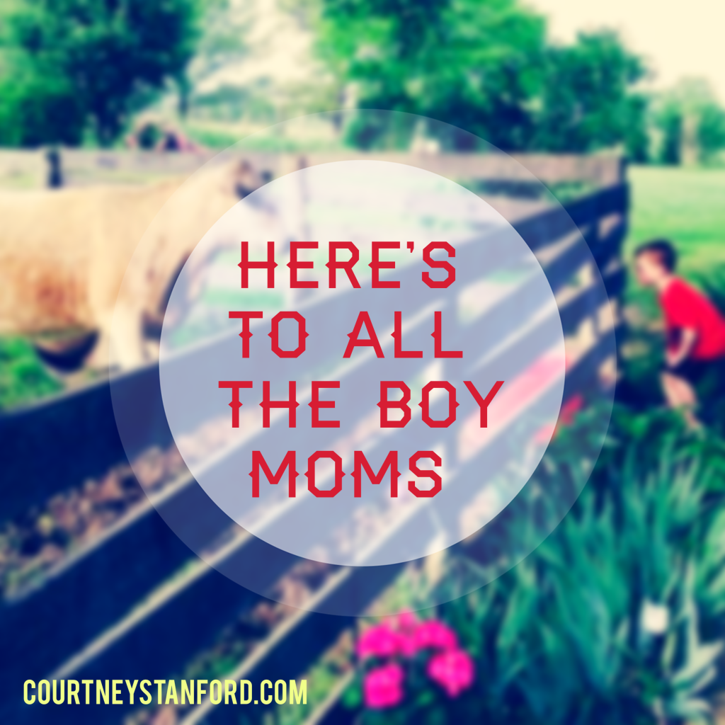 Here's To All the Boy Moms