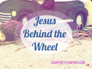 Jesus Behind the Wheel
