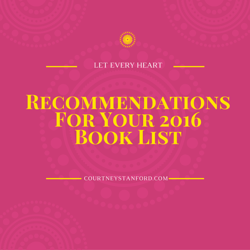 Recommendations for Your 2016 Book List {Also Known as: My Best Reads of 2015}