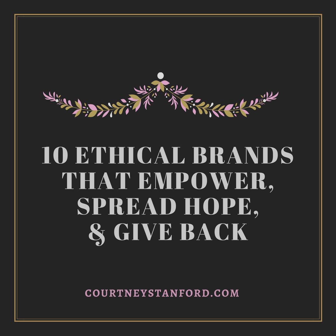 Fair trade companies gift guide