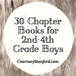 30 Chapter Books for 2nd-4th Grade Boys